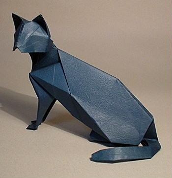 ハート 折り紙 折り紙 動物 立体 折り方 : nekohon.jp