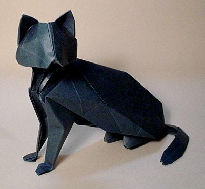 クリスマス 折り紙 猫 折り紙 : origami.gr.jp