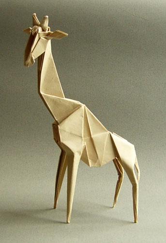 簡単 折り紙:折り紙 キリン-origami.gr.jp