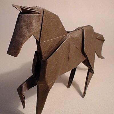 ハート 折り紙 折り紙 馬 : origami.gr.jp