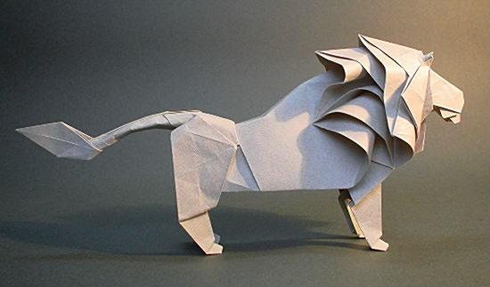 花 折り紙:折り紙 ライオン 折り方-origami.gr.jp