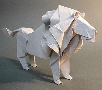 クリスマス 折り紙 難しい折り紙 : origami.gr.jp